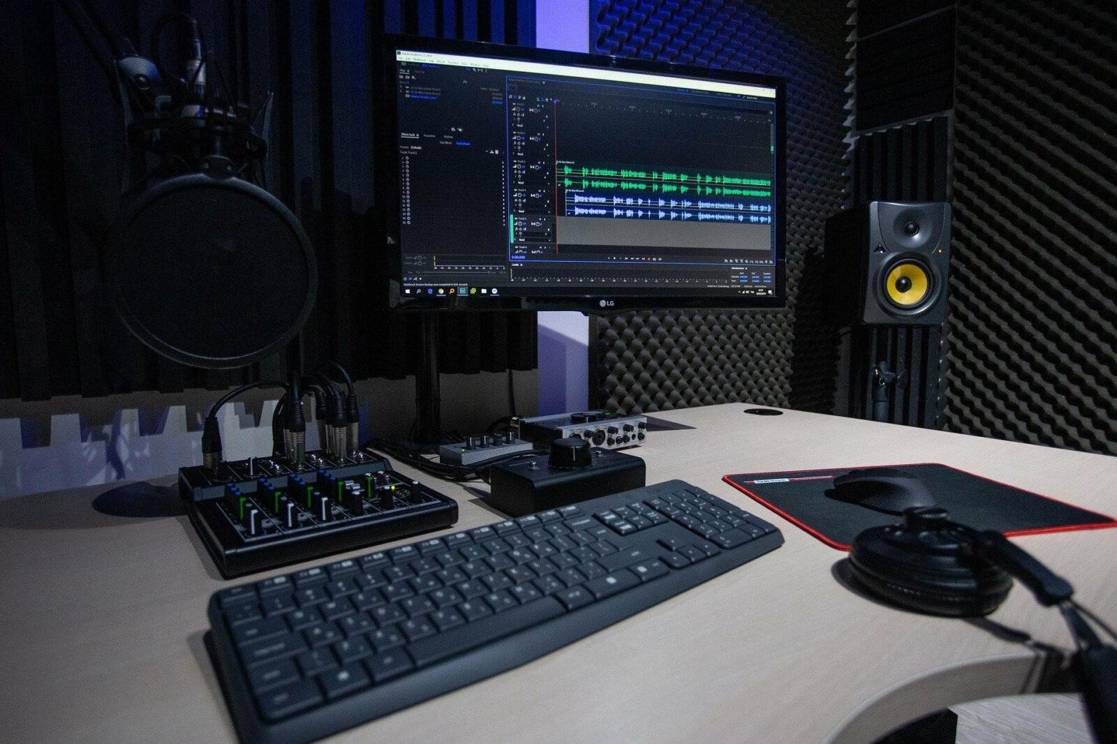 Home studio - studio d'enregistrement pro - Voix off Clément